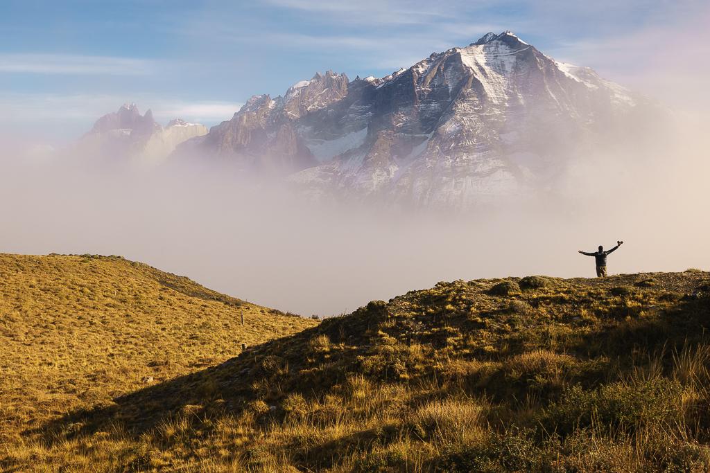 Torres del Paine Hiker
