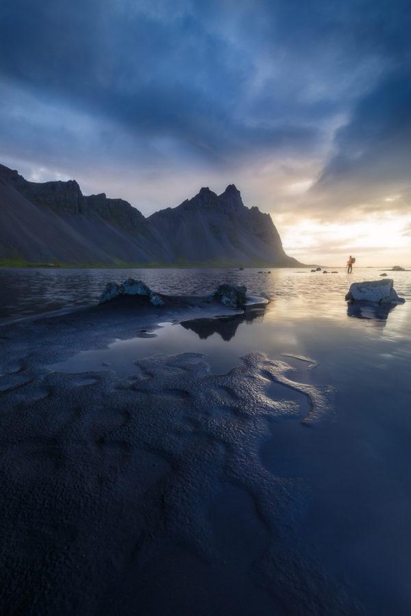 Photograph of Vesterhorn Mountain Iceland